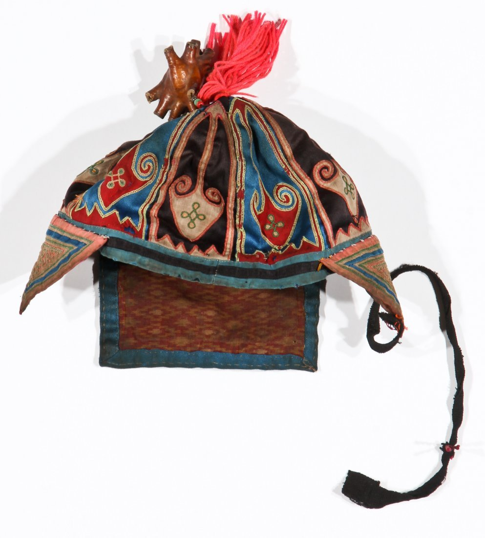 Yao Child's Hat and Priest's Accouterments (6), North - 4