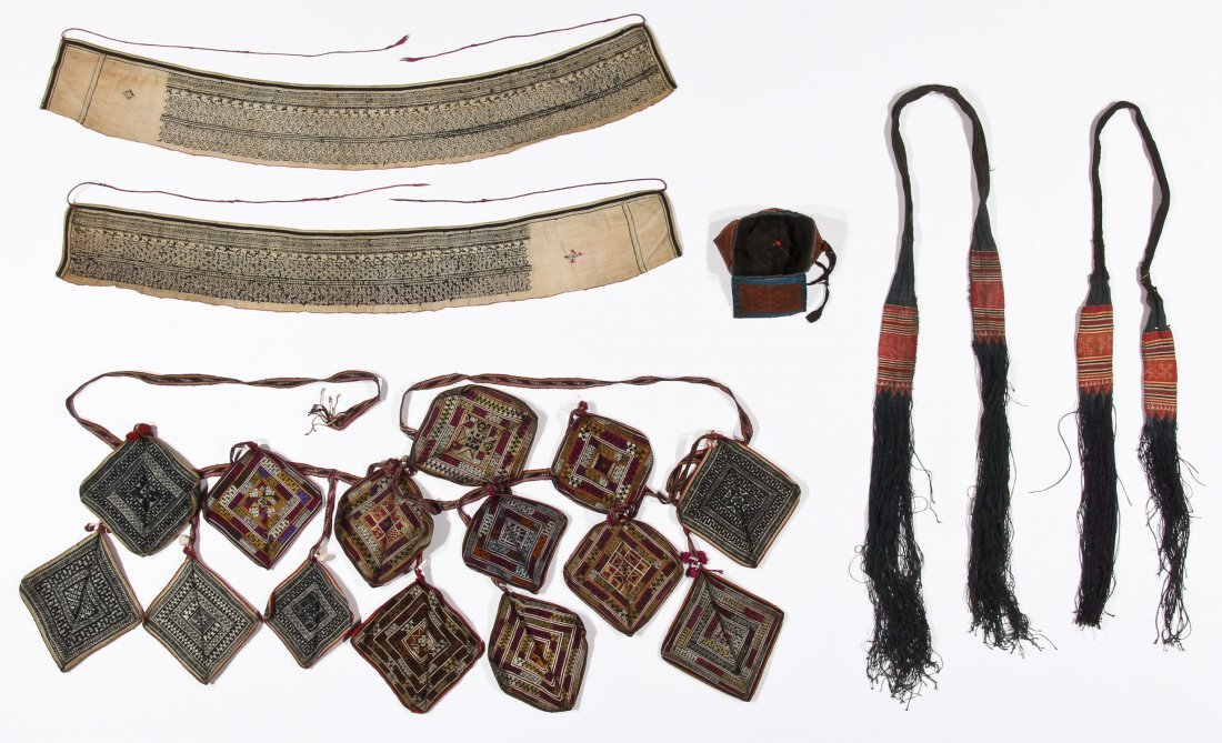 Yao Child's Hat and Priest's Accouterments (6), North - 7