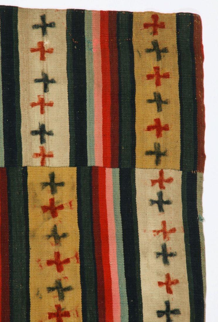 Antique Paneled Blanket, Bhutan - 2