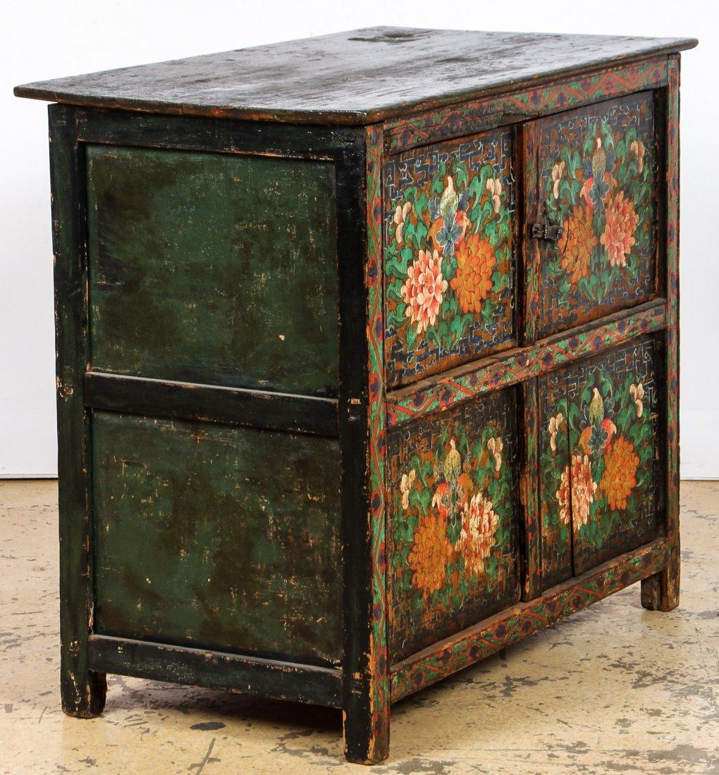 Antique Tibetan Monastery Cabinet - 6