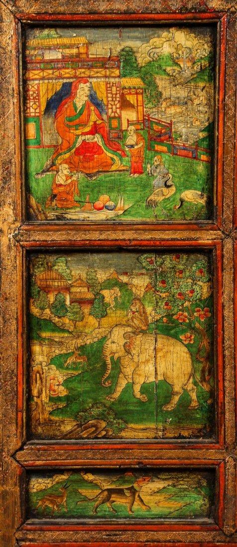 Antique Tibetan Monastery Cabinet - 3