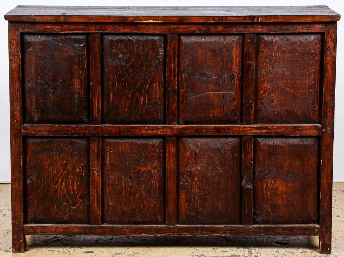 Antique Tibetan Monastery Cabinet - 7