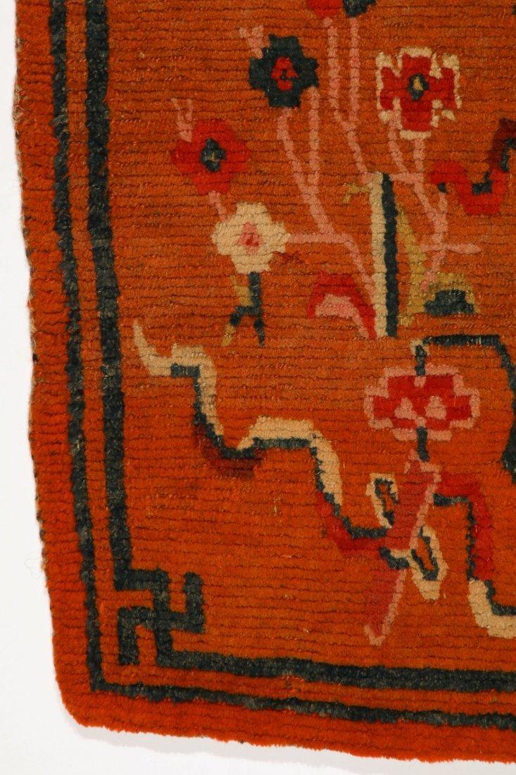 Antique Tibetan Rug: 2'8'' x 5'7'' (81 x 170 cm) - 2