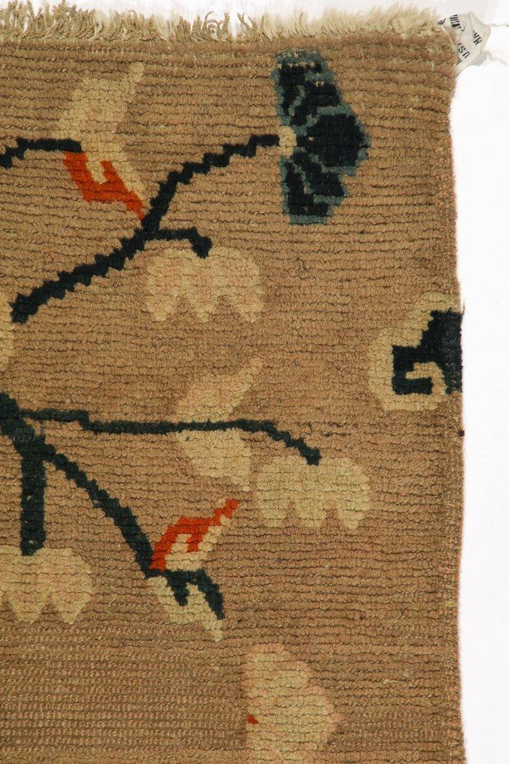 Antique Tibetan Rug: 2'5'' x 5'0'' (74 x 152 cm) - 2