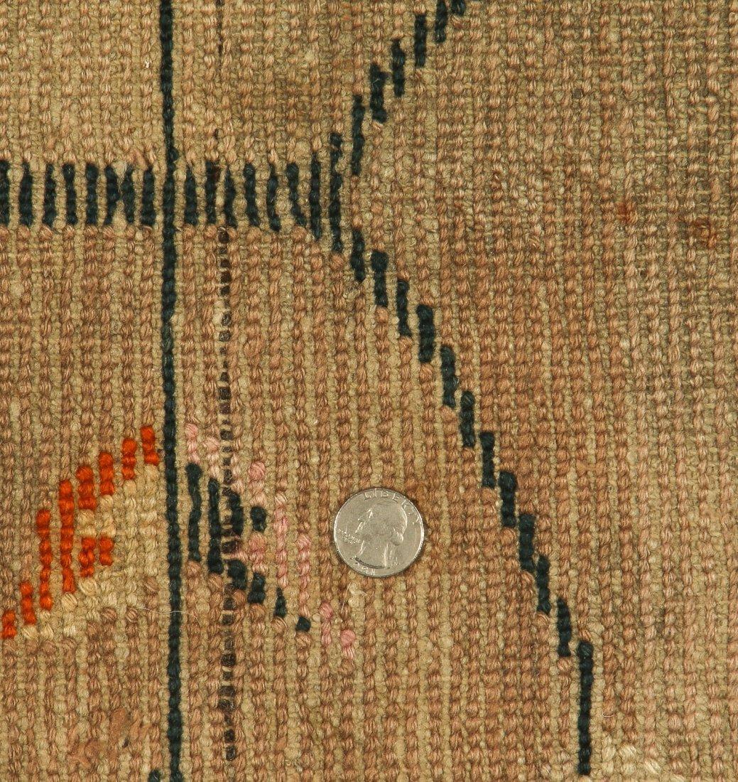 Antique Tibetan Rug: 2'5'' x 5'0'' (74 x 152 cm) - 5