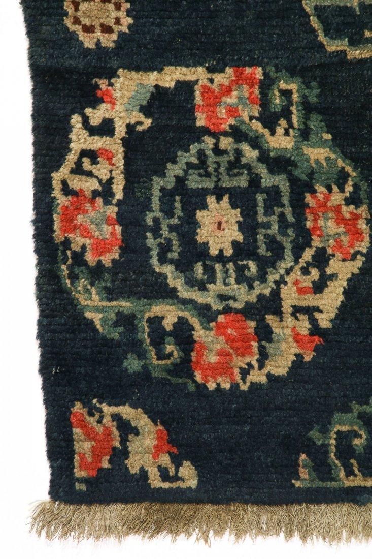 Antique Tibetan Rug: 2'4'' x 4'5'' (71 x 135 cm) - 2