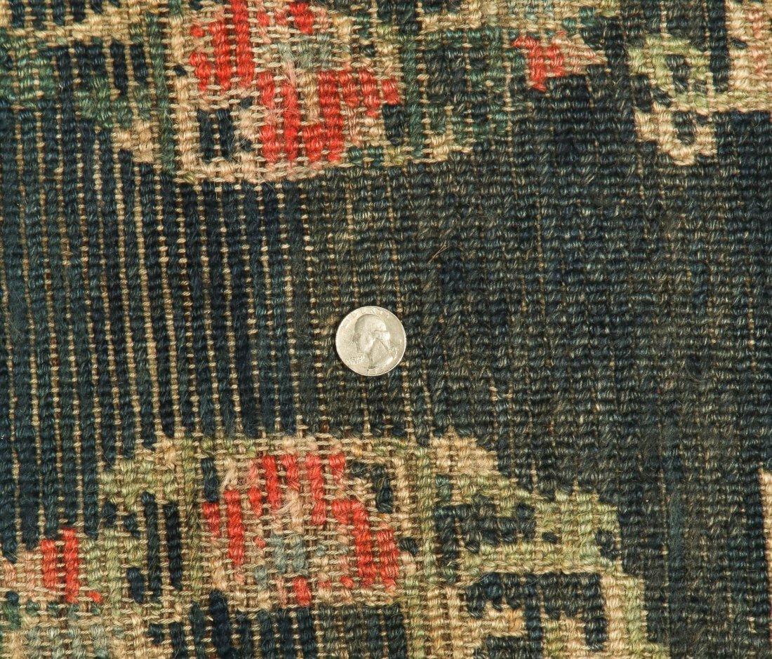 Antique Tibetan Rug: 2'4'' x 4'5'' (71 x 135 cm) - 5