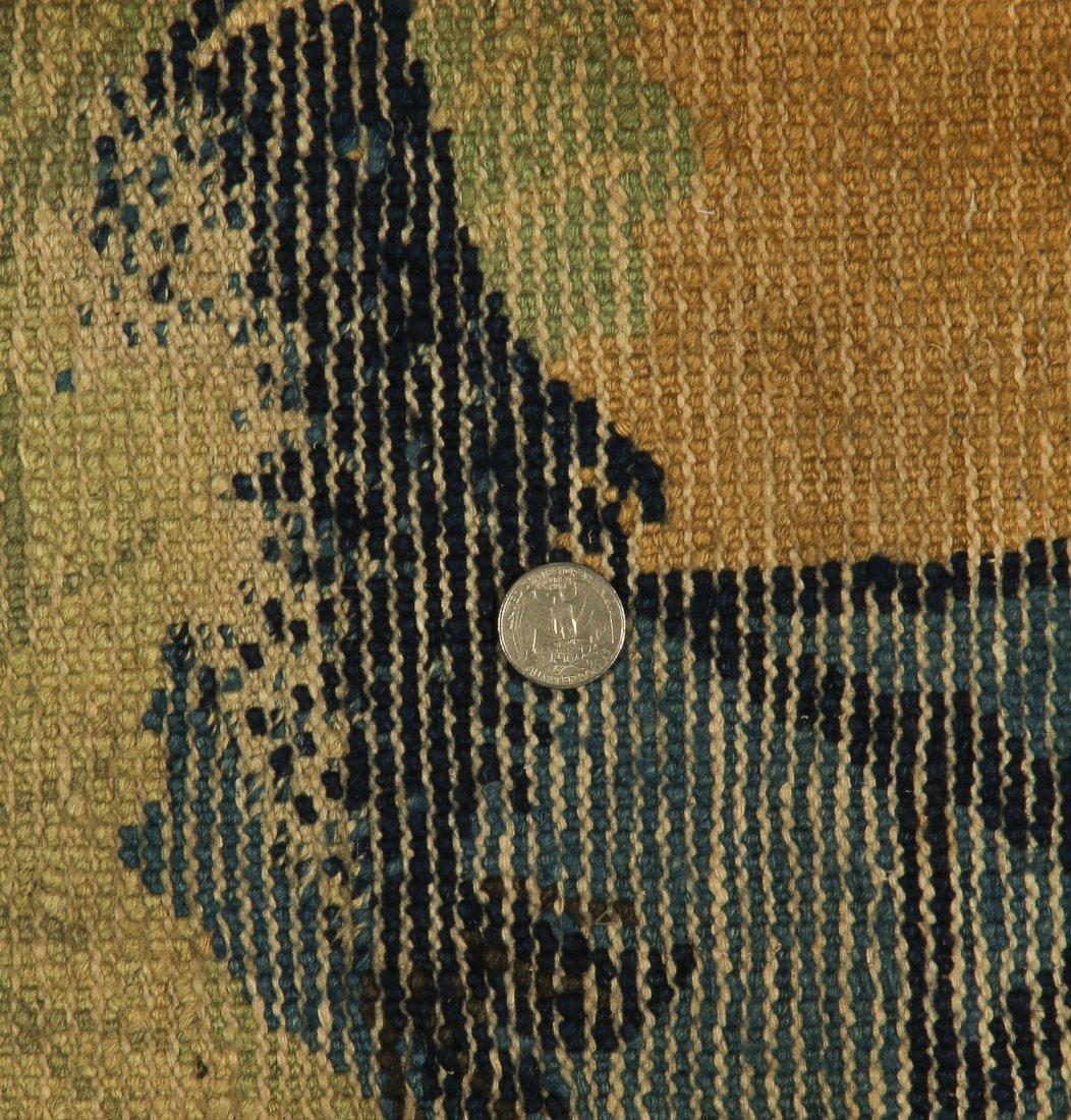 Antique Mongolian Rug: 2'3'' x 4'6'' (69 x 137 cm) - 5