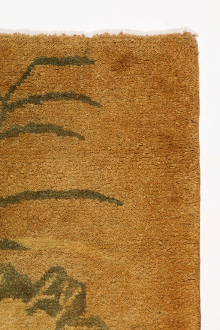 Antique Mongolian Rug: 2'3'' x 4'5'' (69 x 135 cm) - 2