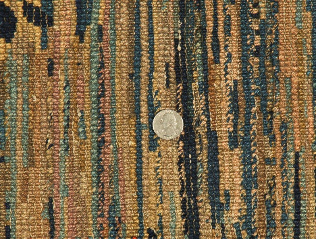 Antique Tibetan Rug: 3'3'' x 5'6'' (99 x 168 cm) - 5
