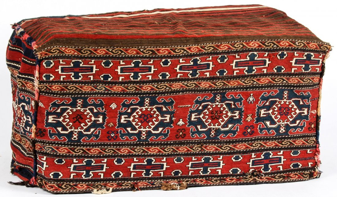 Antique Shahsevan Sumak Beshik/Cradle - 6