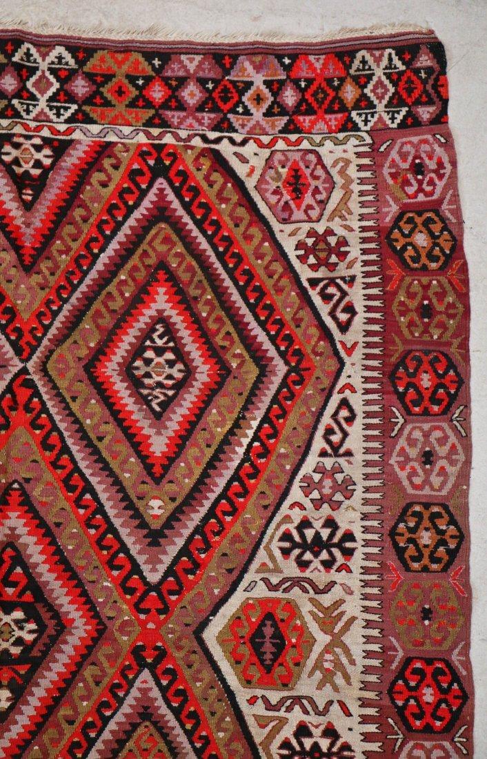 Antique Central Anatolian Kilim: 10'1'' x 5'1'' (307 x - 2