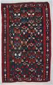 Antique Caucasian Kilim: 12'2'' x 6'4'' (310 x 193 cm)