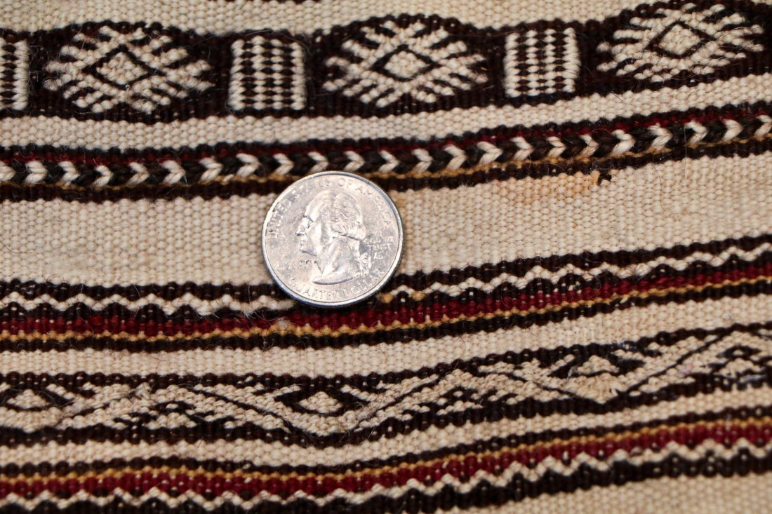 Antique Moroccan Rug: 6'6'' x 2'10'' (198 x 86 cm) - 5