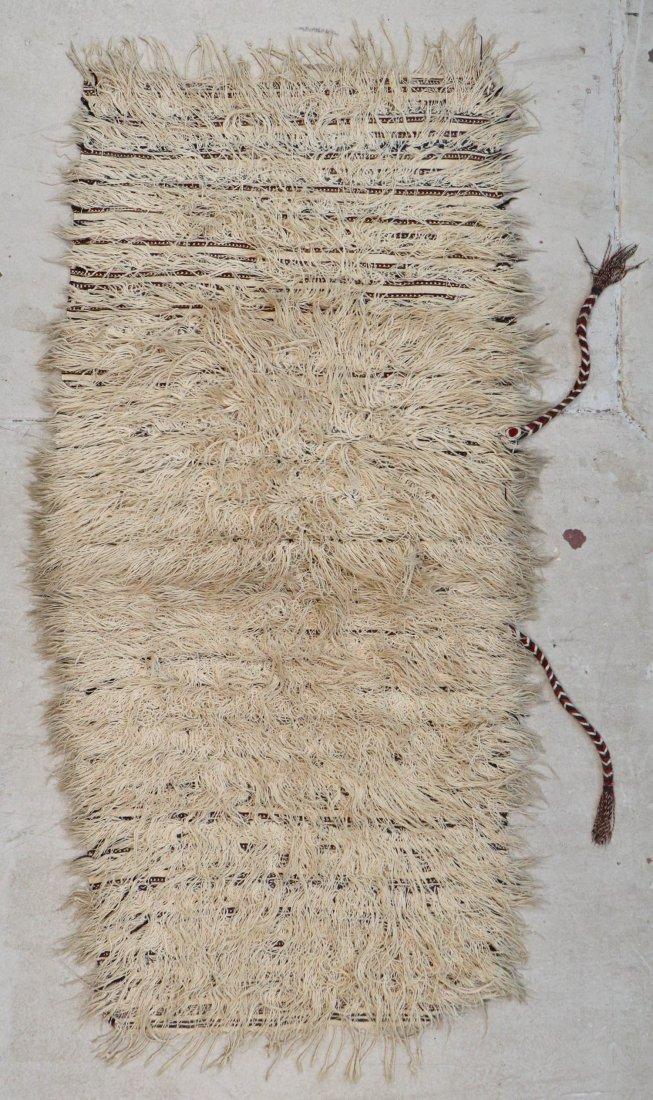 Antique Moroccan Rug: 6'6'' x 2'10'' (198 x 86 cm) - 6
