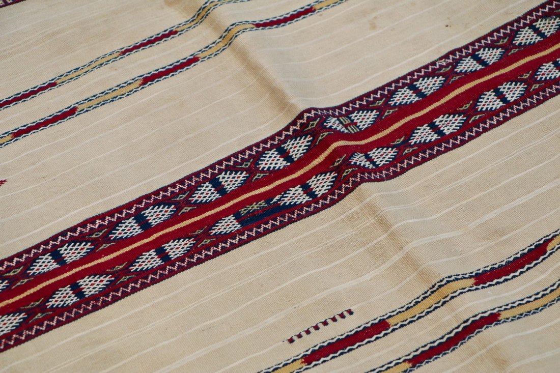 Antique Moroccan Flatweave: 5'10'' x 4' (178 x 122 cm) - 3