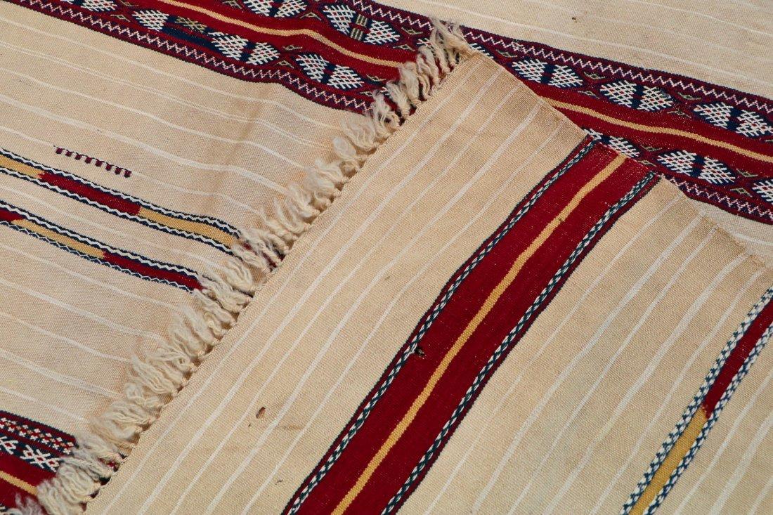Antique Moroccan Flatweave: 5'10'' x 4' (178 x 122 cm) - 4