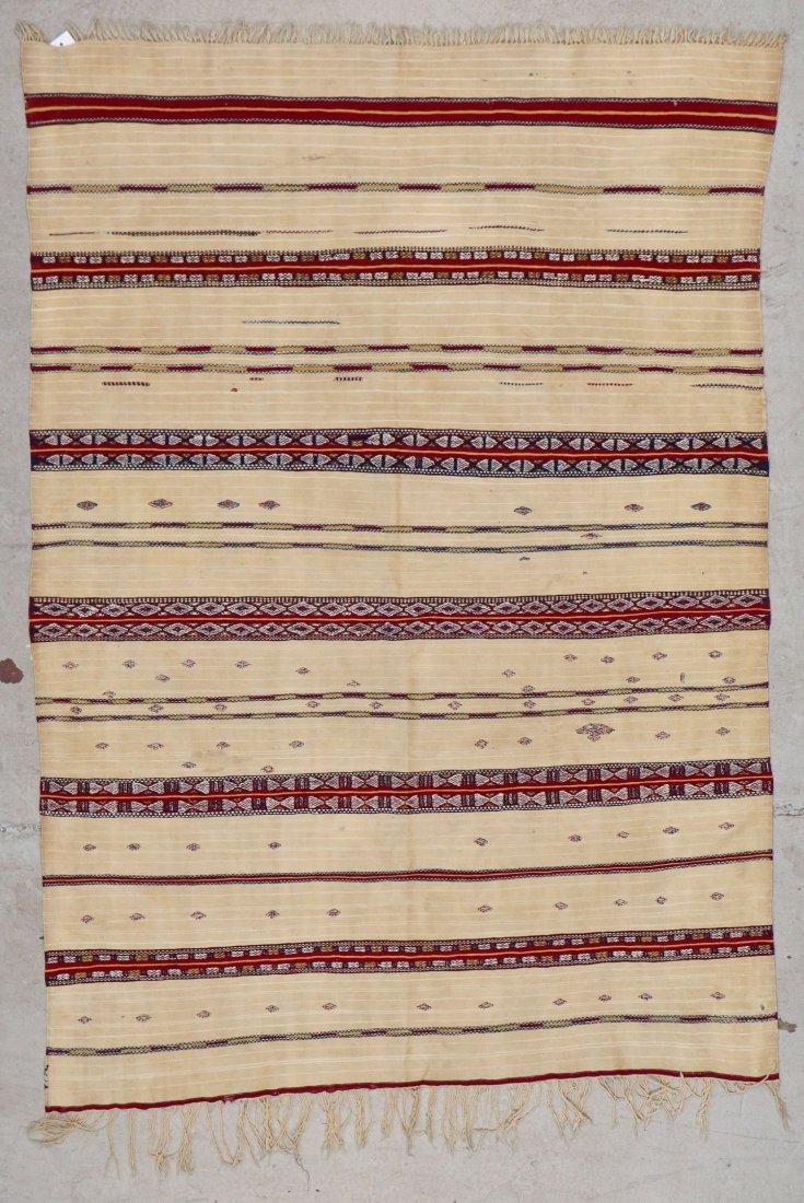 Antique Moroccan Flatweave: 5'10'' x 4' (178 x 122 cm) - 5