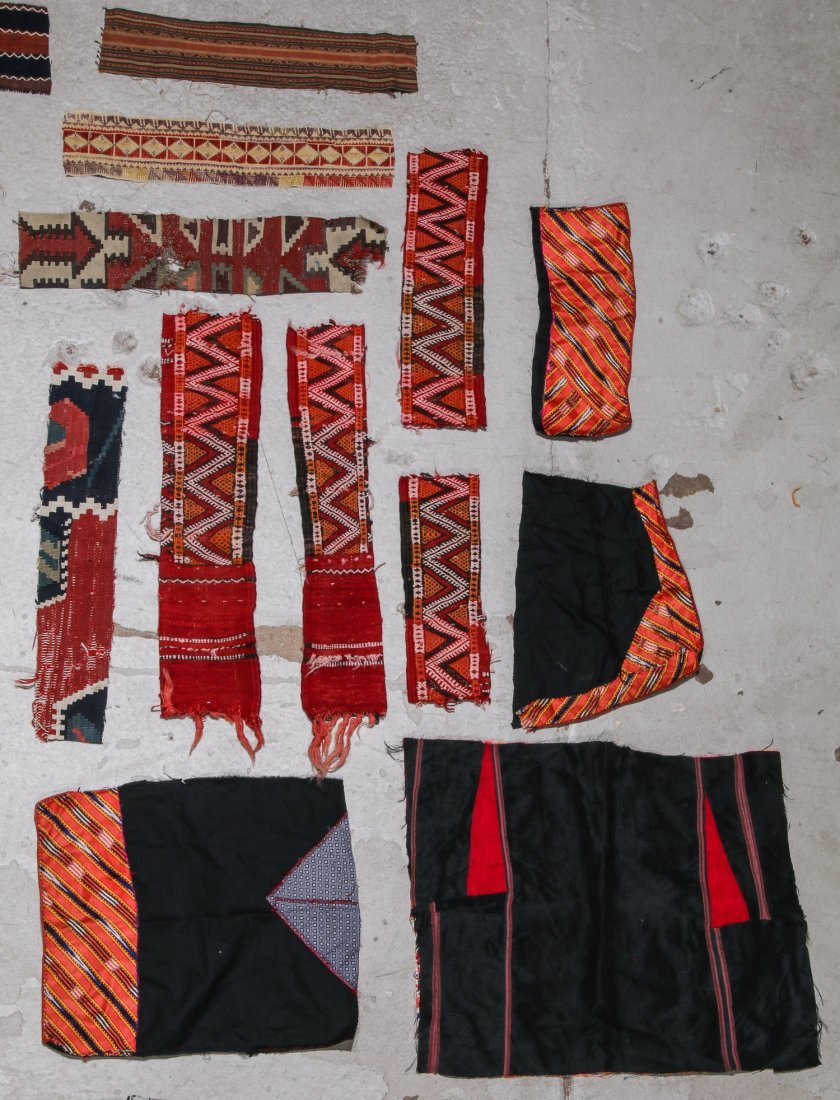 Group of Ethnographic Textile Fragments - 2