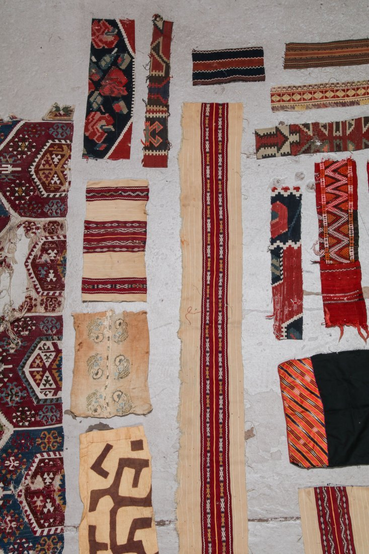 Group of Ethnographic Textile Fragments - 3