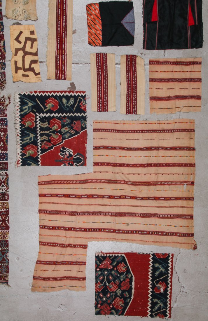 Group of Ethnographic Textile Fragments - 4