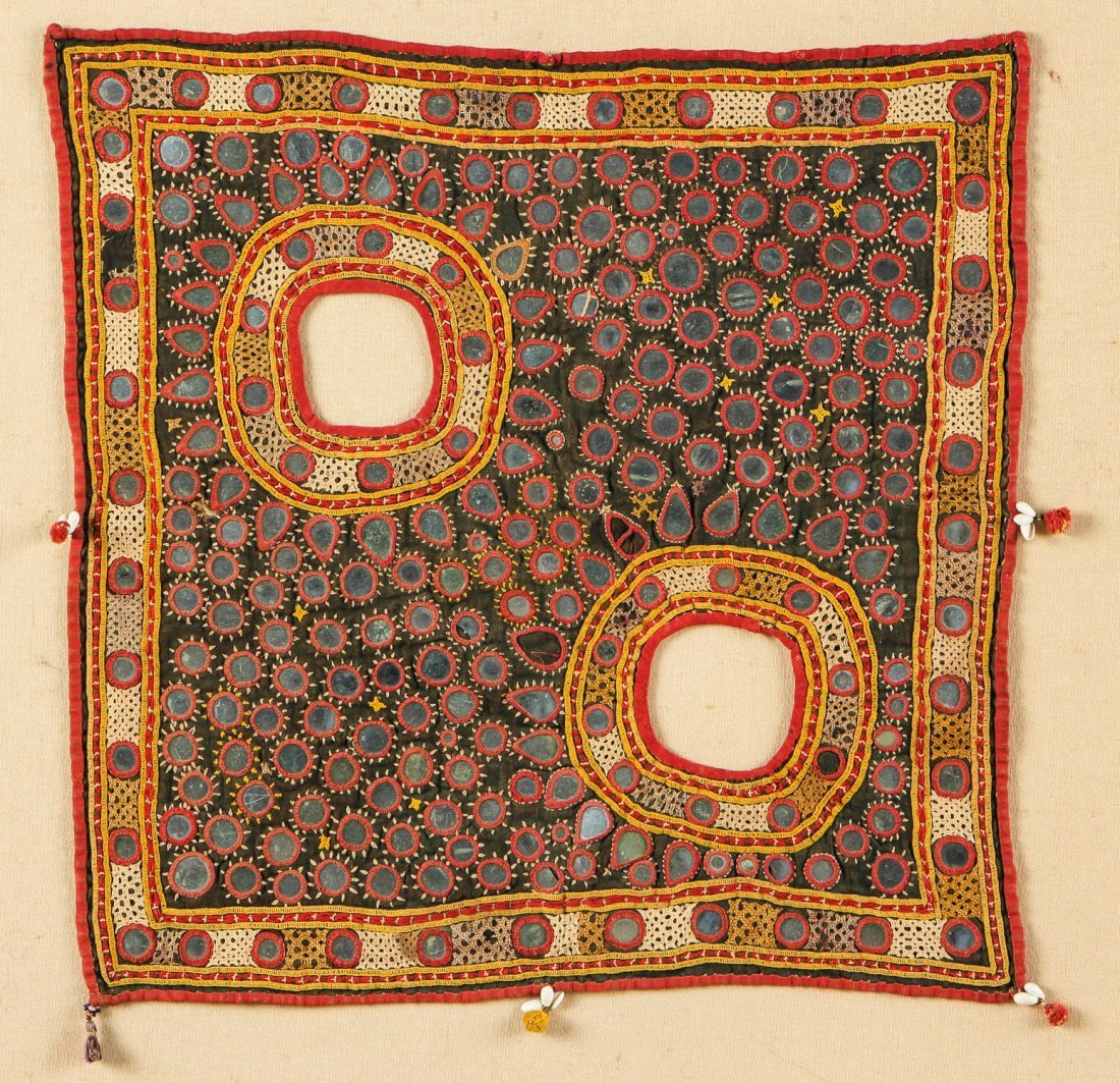 Mounted Sindh Embroidery, India - 2