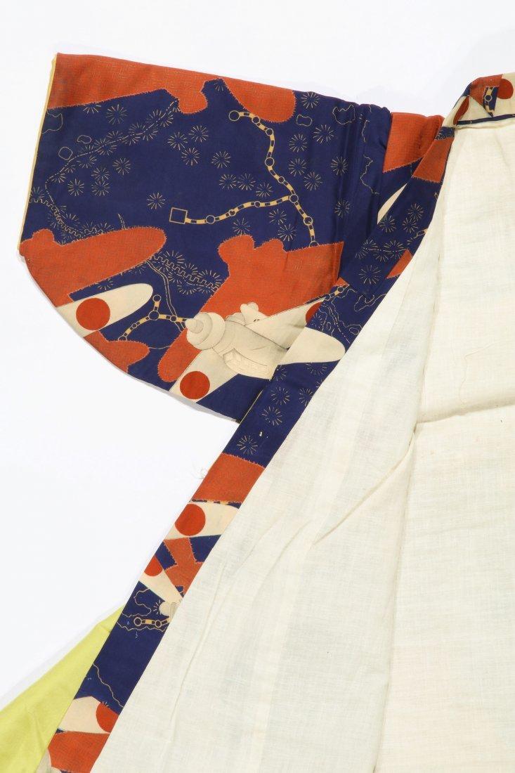 Child's Silk Kimono, Japan, 1930s - 3