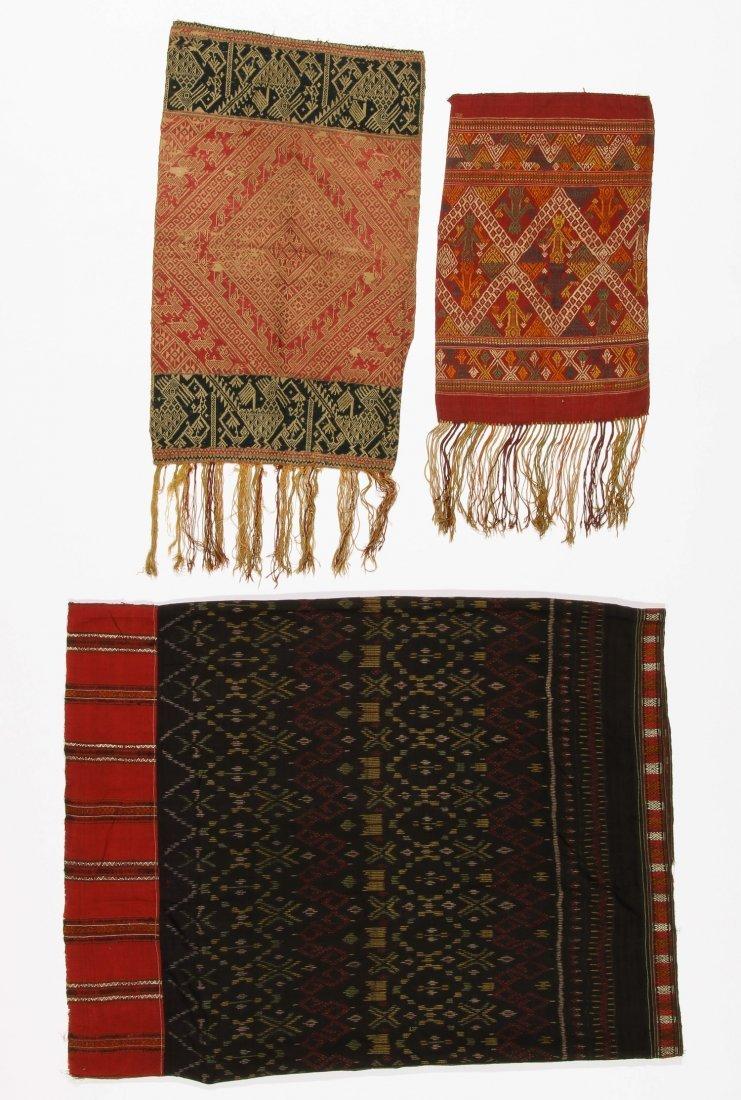 3 Old Lao Textiles, Laos