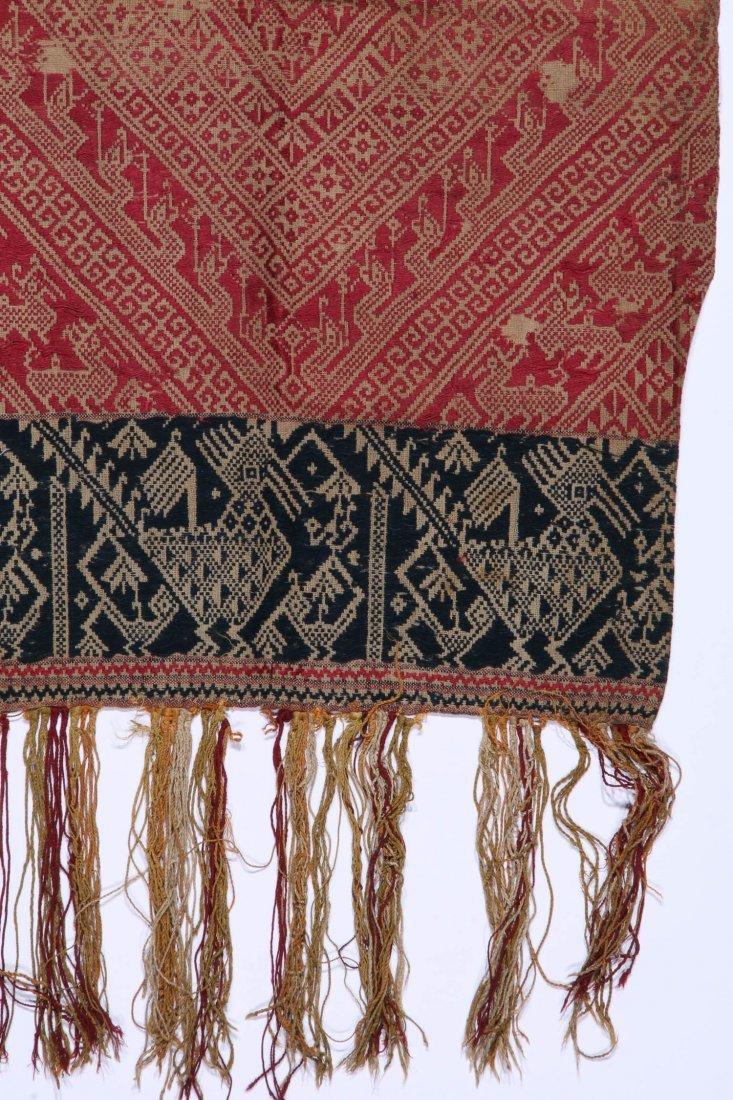 3 Old Lao Textiles, Laos - 2