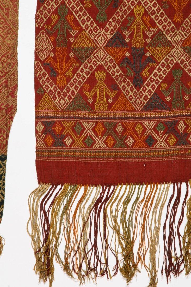 3 Old Lao Textiles, Laos - 3