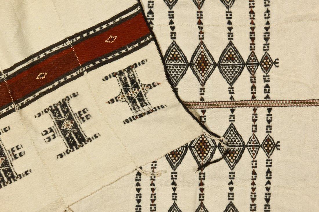 Antique Fulani Wedding Blanket, Peul People, Mali - 4