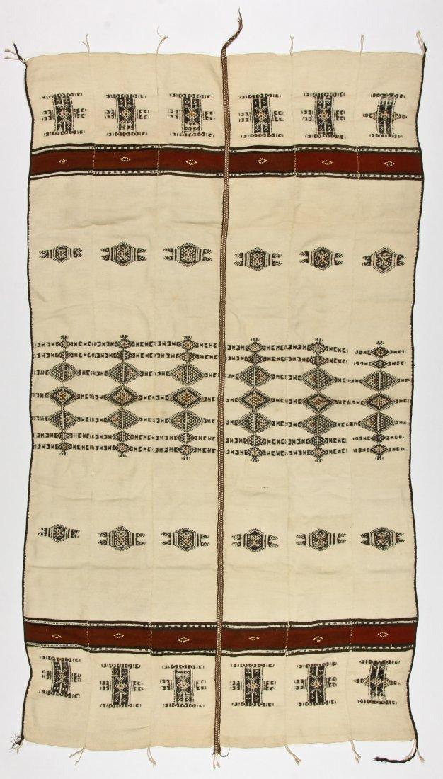 Antique Fulani Wedding Blanket, Peul People, Mali - 5