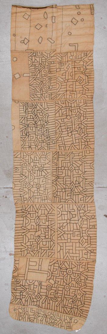 Fine Old Kuba Raffia Textile, DRC, Early 20th C