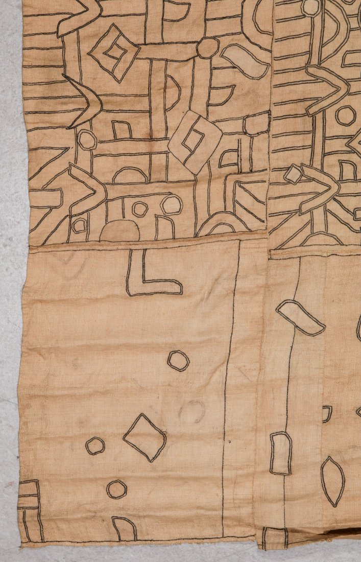 Fine Old Kuba Raffia Textile, DRC, Early 20th C - 2
