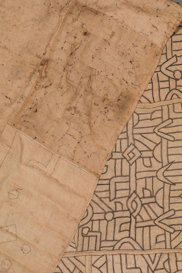 Fine Old Kuba Raffia Textile, DRC, Early 20th C - 3