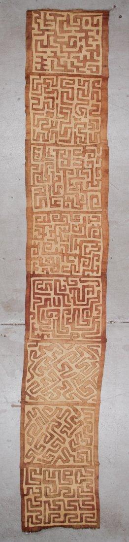 Old Kuba Raffia Textile, DRC