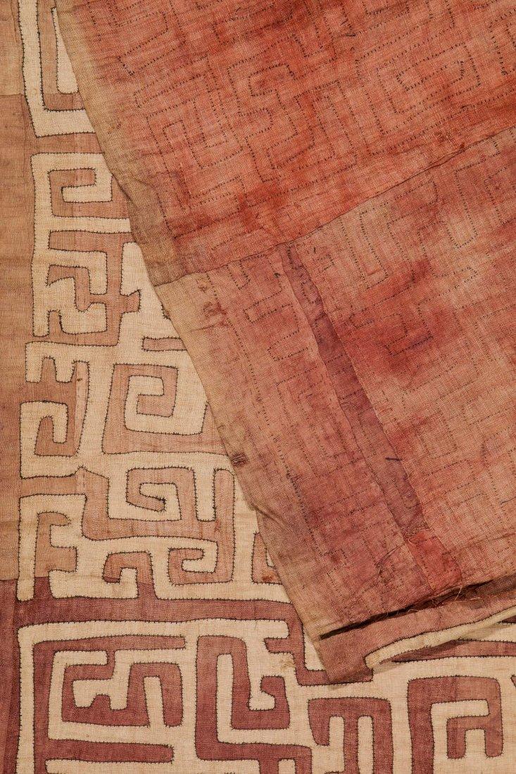 Old Kuba Raffia Textile, DRC - 3