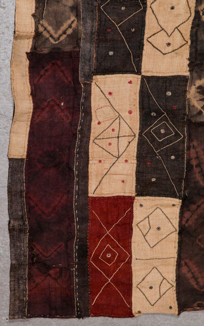 2 Old Kuba Raffia Textiles, DRC - 3