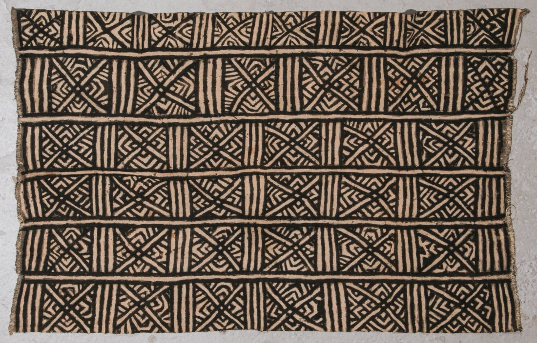 5 Vintage African Textiles - 5