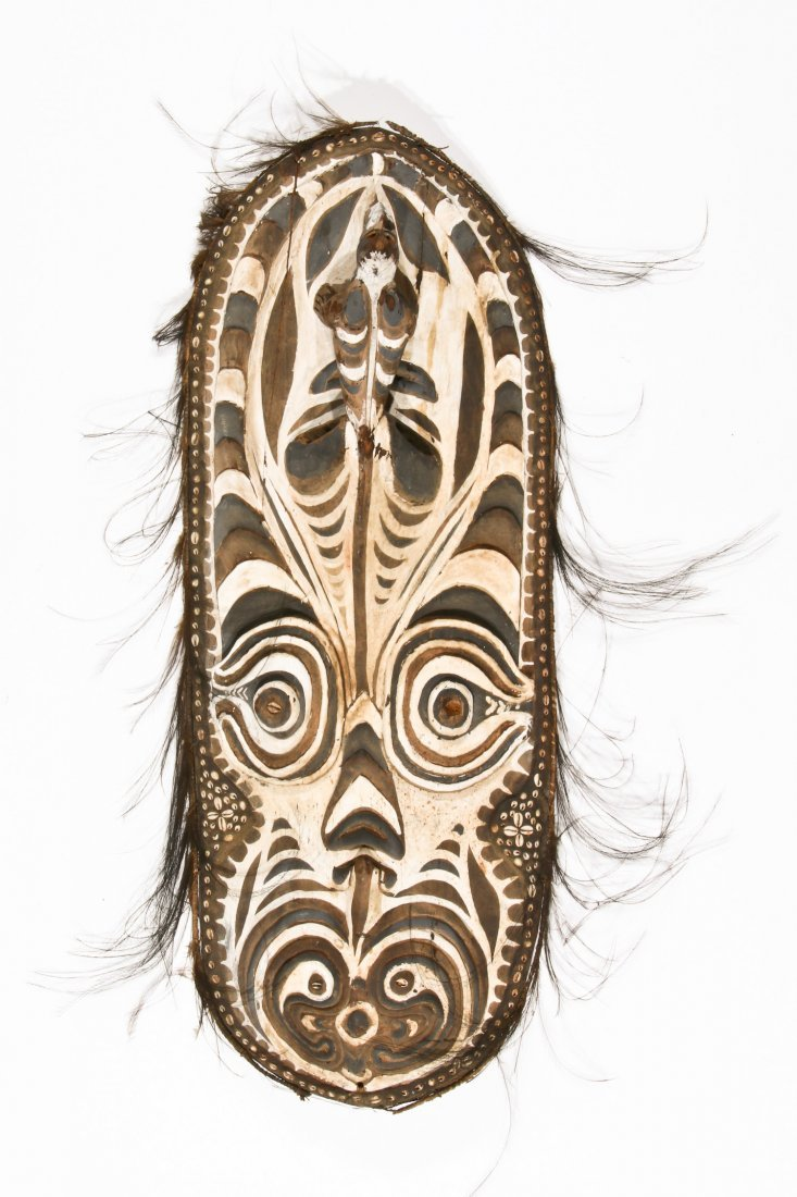 Asmat Sepik River Mask