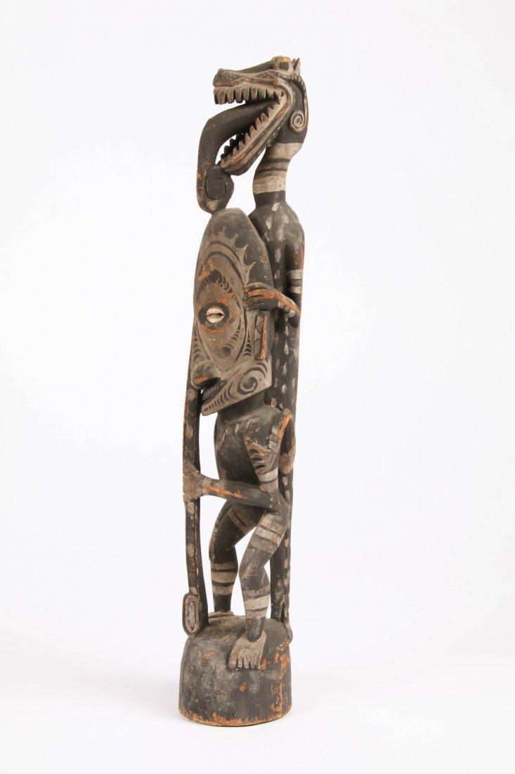 PNG Iatmul Figural Carving - 2
