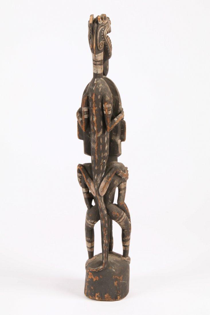 PNG Iatmul Figural Carving - 3