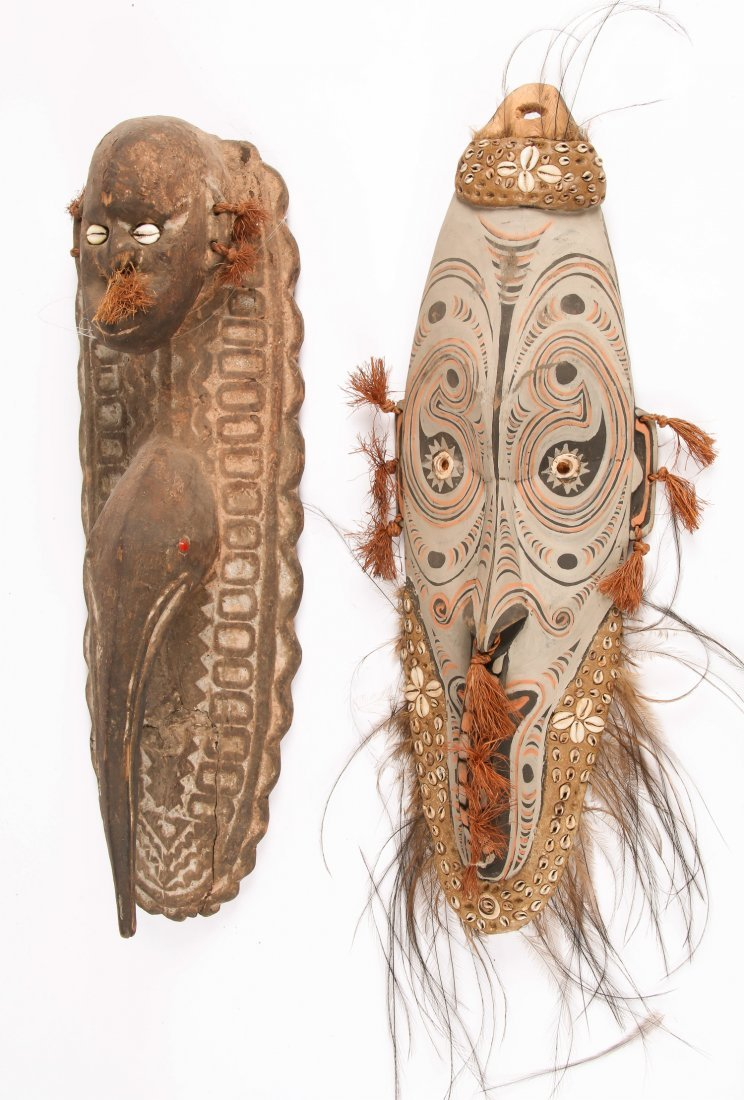 2 PNG Masks Iatmul and Keram