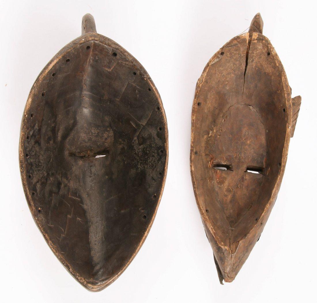 2 African Marka Masks - 3