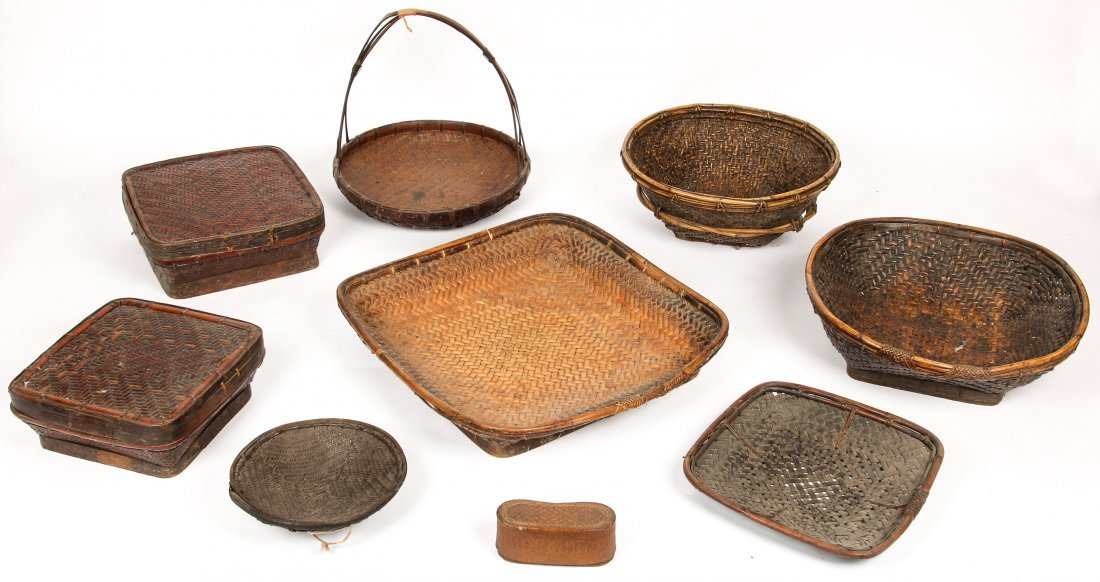 9 Asian Basketry Forms