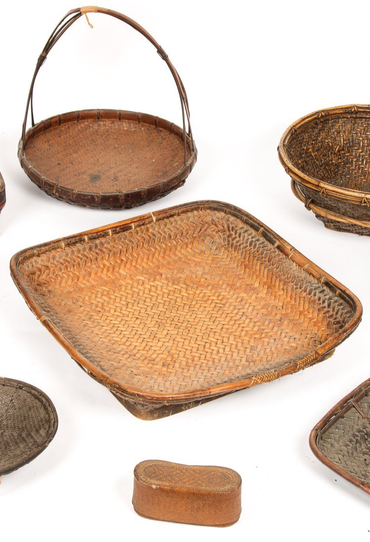 9 Asian Basketry Forms - 3