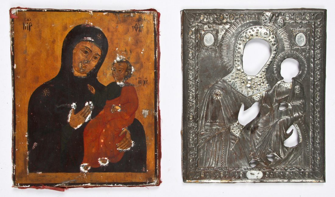 Late 19th C Russian Orthodox Icon - 2