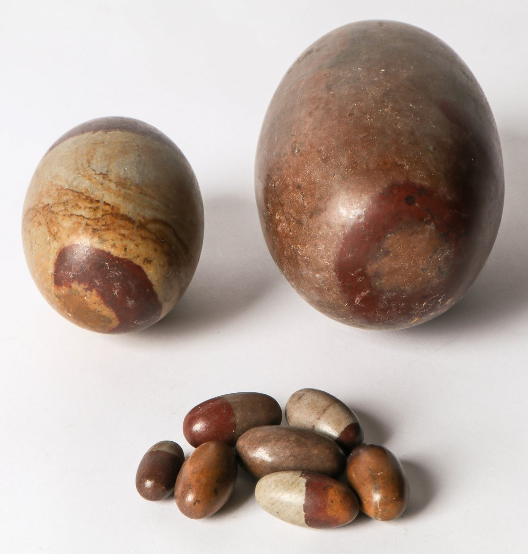 Lot of Shiva Lingam Stones - 3