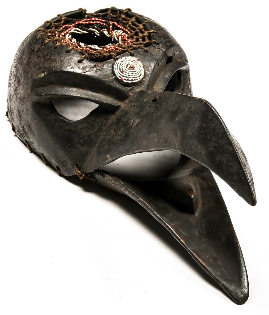 Fine Shamanic Raven Mask