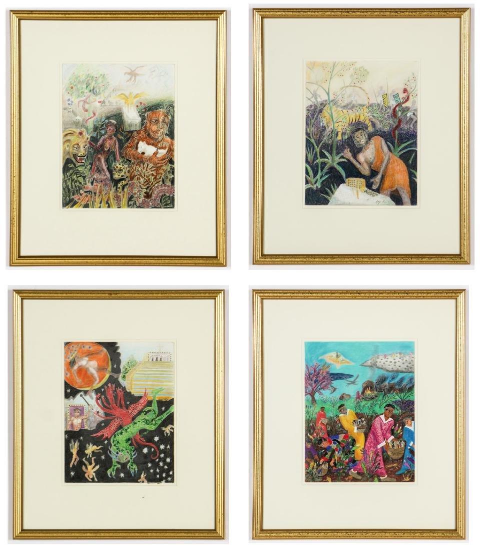 Roger Rice (American/Mississippi, b. 1958) 4 Works